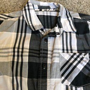 Quiksilver Shirts & Tops - Vans, Quicksilver button up shirts lot of (3)